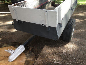 Remorque pour VTT et Tracteur à gazon