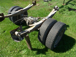 Rear Springs + Hangers from  a  97 - 1 Ton Dually Dodge Diesel
