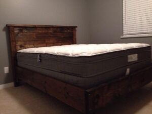 Wood Bed Frames and Headboards Prince George British Columbia image 1