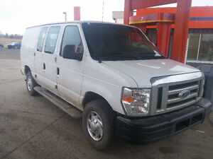 Good deal 2011 Ford E-250 Econoline Commercial Minivan, Van