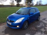 2011/61 SZ4 38988 MILES SUZUKI SWIFT 1.2 (£30 years tax) BLUETOOTH, KEYLESS,F/S/H! MAY P/X SWAP?