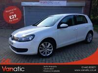 2010/60 Volkswagen Golf 2.0TDI ( 140ps ) Match in White