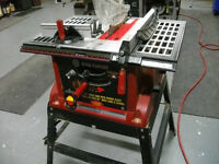 Banc de scie NEUF- 10 pouces-King Table saw Brand new.