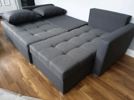 Free Delivery* Brand New Corner Sofa Bed Was £750 now £340