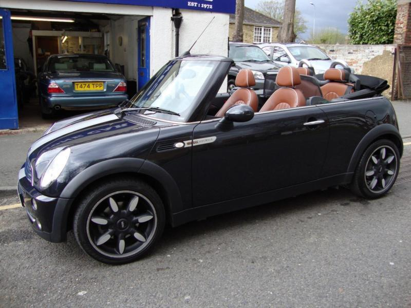 mini cooper 1 6 sidewalk convertible cabriolet 2007 special edition in maidstone kent. Black Bedroom Furniture Sets. Home Design Ideas