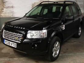 May 2009 LAND ROVER FREELANDER 2 2.2 TD4 E XS 4x4 * SAT.NAV * Htd.Elec.Leather
