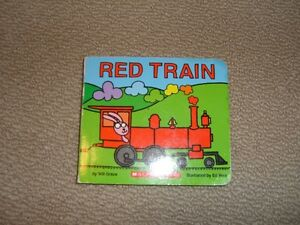 Red Train Board Book (Scholastic)