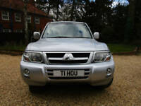 2005 55 Mitsubishi Shogun 3.2DI-D Warrior AUTOMATIC TD 4X4 FSH 2 OWNERS LEATHER