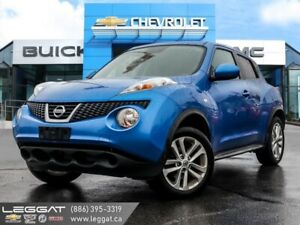 2012 Nissan JUKE S  | AWD | One Owner | 17in. Wheels!