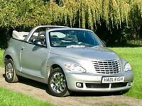 2007/57 CHRYSLER PT CRUISER CONVERTIBLE. 2.4 PETROL AUTO LIMITED ONLY 31K MILES