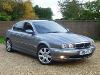 2004 54 Jaguar X-TYPE 2.5 V6 auto SE Saloon + BODY STYLING KIT + 1 PREV OWNER