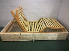 Electric, Adjustable, Single bed with remote