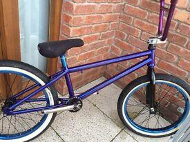Custom bmx candy purple wethepeople stunt bicycle jump bike MTB