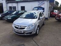 Vauxhall Corsa Active CDTi diesel 67k immaculate economical,Full MOT+Service+Warranty included,
