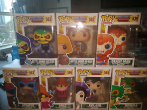 FUNKO POP TELEVISION MASTERS OF THE UNIVERSE, MINT IN BOX!