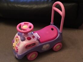 Pink Princess Ride-On