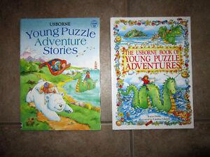 Usborne Young Puzzle Adventure Stories