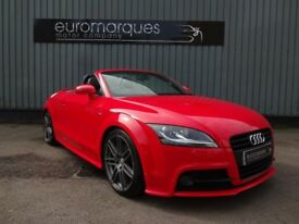 Audi TT TFSI S LINE BLACK EDITION (red) 2012