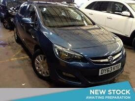 2013 VAUXHALL ASTRA 1.4i 16V Exclusiv 5dr