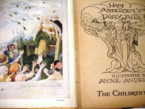 1940s rare WARTIME ANDERSEN'S FAIRY TALES plates Anne Anderson Cambridge Kitchener Area image 4
