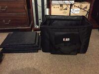 BUBM Soft Flight Case Carry Bag FITS 2 CDJ 2000 Nexus