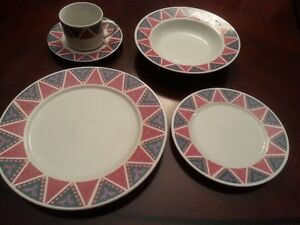 Set of everyday dishes