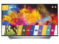 LG 55UF950V OLED 4K HDR 55 inch TV - 3 years warranty remaining