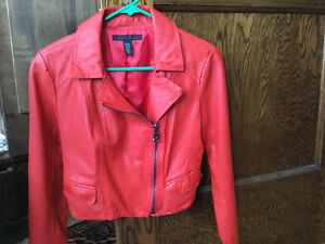 Brand new Kenneth Cole leather jacket