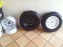SALE NEW HT HQ and FORD 14's sunraysia trailer rims with 185r14C Mundaring Mundaring Area Preview