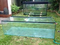 48 inch Fish tank with glass lid