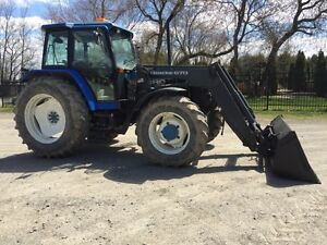 Ford 8240 4x4 loader Quick cabine