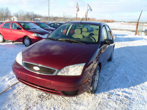 2007 Ford Focus Sedan KM 117000
