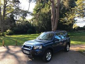 2005 Land Rover Freelander 1.8 SE 5 Door Estate Blue