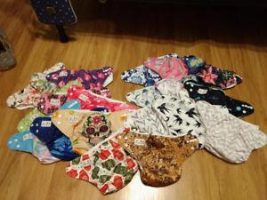 20 Alva baby 4 little bloom cloth diapers