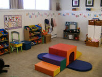 1 Full time/ 1 Part time childcare spot available