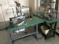 Two (2) commercial sewing machines