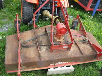 seaforth 3ph 60'' mower $250 firm-off kubota-