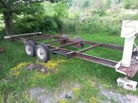 19' x 6' RV utility trailer project