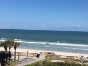 Beach front condo. Harbor Beach Resort. Daytona Beach Fla.