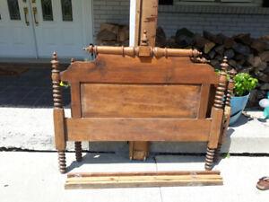 Antique bed frame