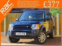 2009 Land Rover Discovery 2.7 TDV6 Turbo Diesel SE 4x4 4WD 6 Speed Auto 7 Seater