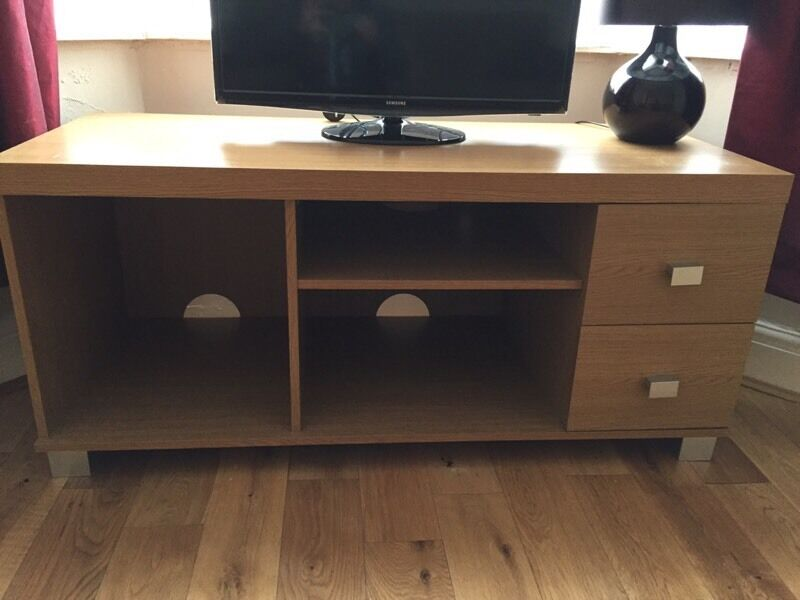 To Cabinetin Liverpool, MerseysideGumtree - Large TVs Cabinet, two drawers on right hand side. In lovely condition, some very small marks on top but can hardly be noticed