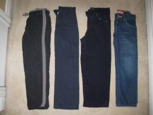 Boys Pants Size 7 (4 Pairs)