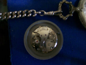 VINTAGE HUNTER POCKET WATCH