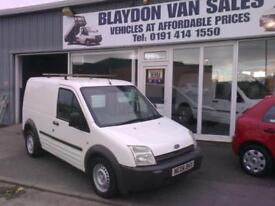 ( SOLD ) 06 reg Ford Transit Connect 1.8TDCi ( 90PS ) Low Roof Van T200 SWB L