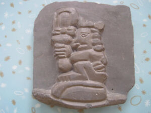 The God of Basketry Slate Stone Carving