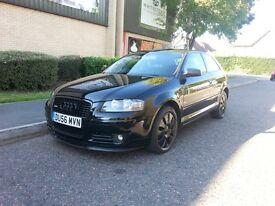 AUDI A3 SPECIAL EDITION 2007 RARE TRADE PRICE !!! LOOKS GREAT DRIVES GREAT NEW 1YR MOT £2295!!!