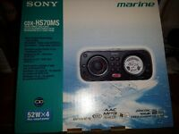 Sony Marine CD AM/FM Stereo