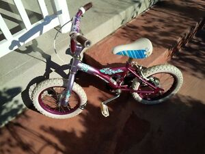 "For sale 14"" girl's bike"