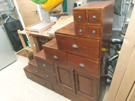 Unusual set of drawers